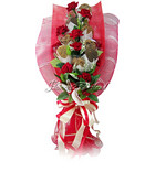 Romantic Red Cookies Bouquet [D]