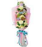 Charming Pink Cookies Bouquet [B]