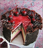 Berry Chocky cake