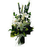 White Virgin Bouquet