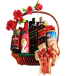Johnnie Walker Black & Red Label Basket