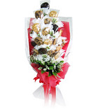 Romantic Red Cookies Bouquet [A]