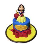 Snow White 3D Cake